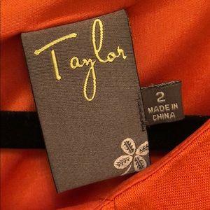 Taylor orange Dress